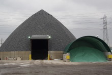 Large Salt Dome & Warehouse